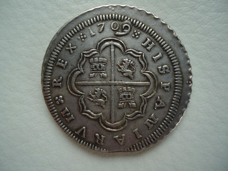 8 reales Felipe V 1709. Sevilla 24059113