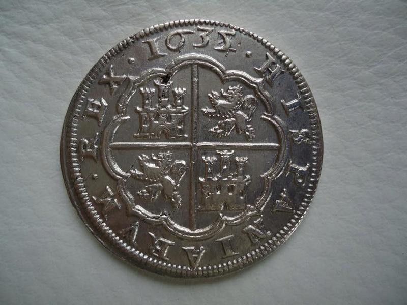 8 reales Felipe IV 1635. Segovia 24900210