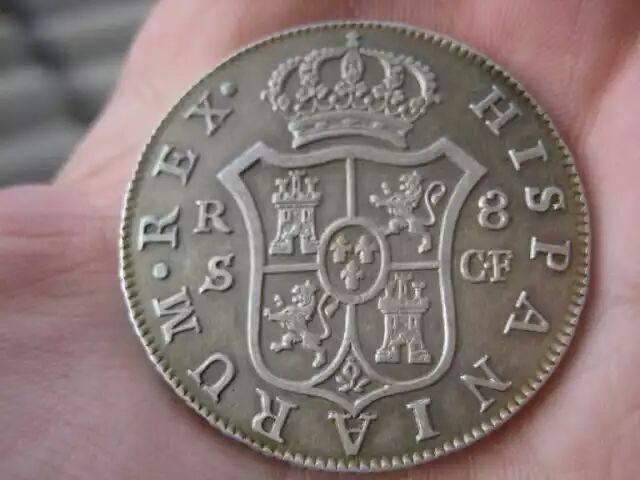 8 reales Carlos III 1776. Sevilla 24909710
