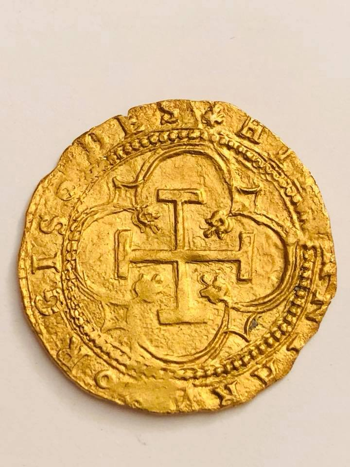 Escudo a nombre de Juana y Carlos 1558-1566. Segovia 27752011
