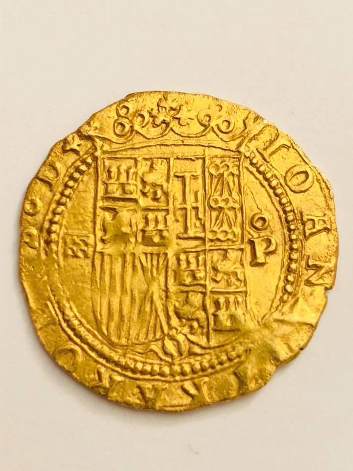 Escudo a nombre de Juana y Carlos 1558-1566. Segovia 27972512