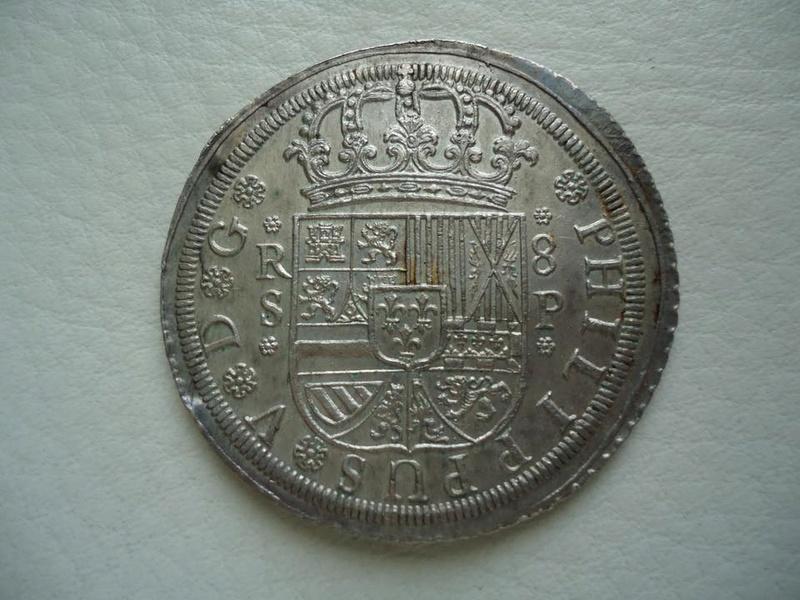 8 reales Felipe V 1728. Sevilla 29261210