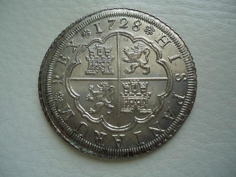 8 reales Felipe V 1728. Sevilla 29342310