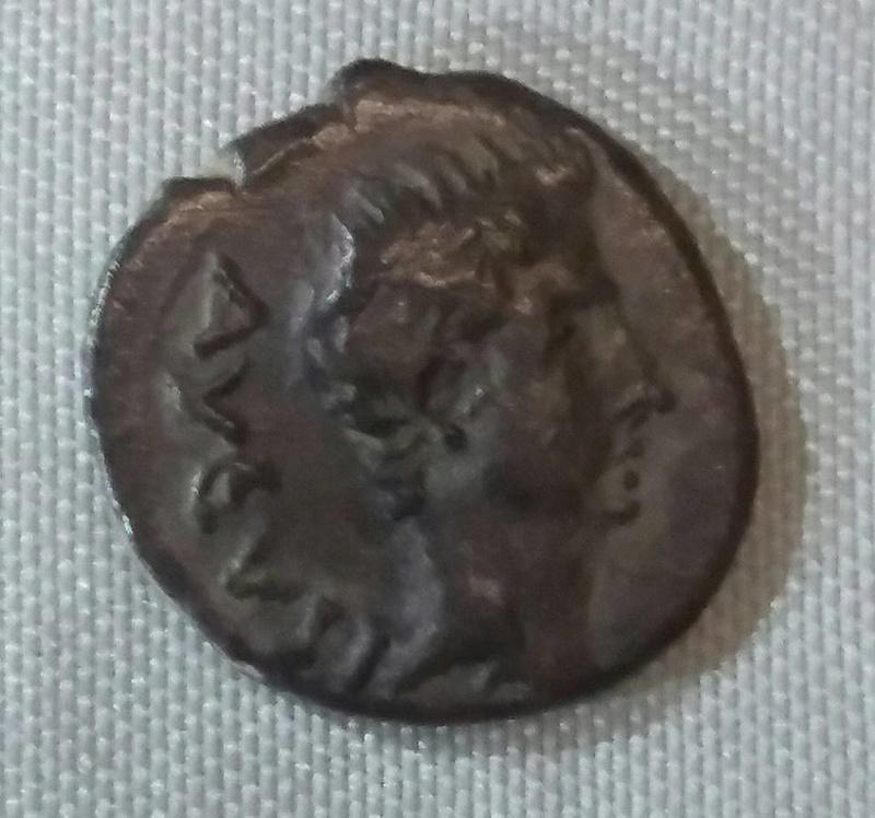 Quinario incuso Augusto. Emerita 29472211