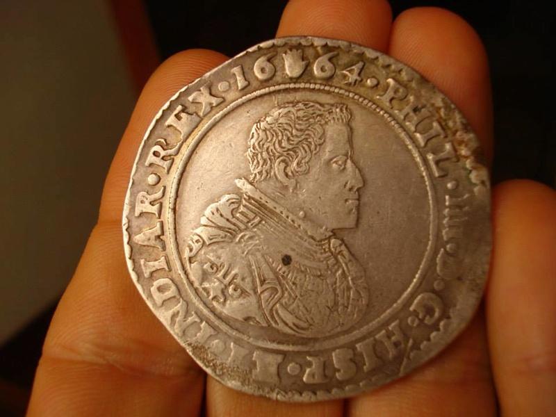 Ducatón Felipe IV 1664. Amberes 30653010
