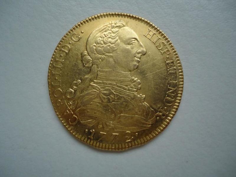8 escudos Carlos III 1772. Madrid 32590510
