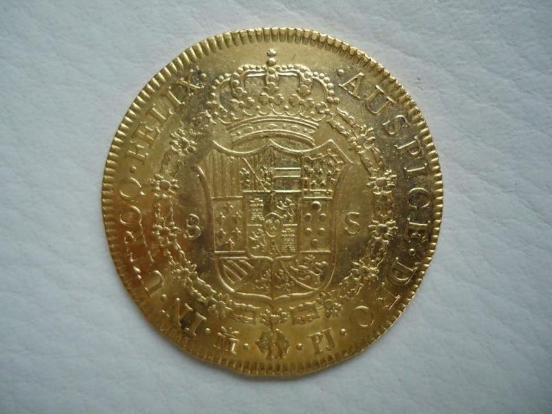 8 escudos Carlos III 1772. Madrid 32727610