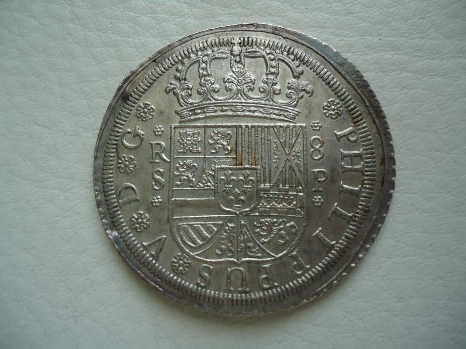 8 reales Felipe V 1728. Sevilla 33689010