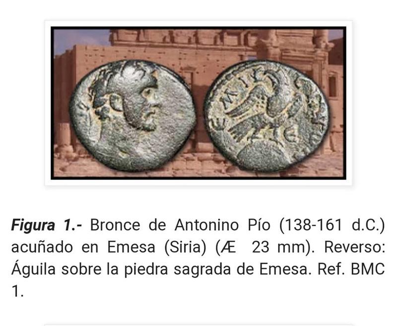 Bronce Antonino Pio. Emesa 47030010