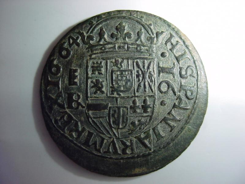 16 maravedís Felipe IV 1664. Segovia R27