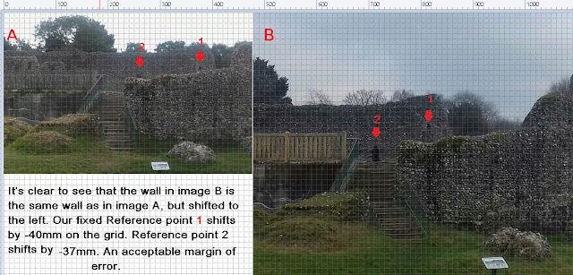 Le fantôme d'un moine photographié dans un château Cas510