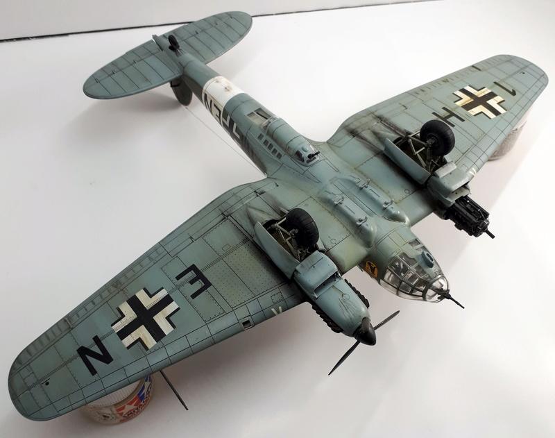 """Hasegawa 1/72---Heinkel He 111 H6 """"TORPEDO BOMBER""""   - Page 9 20180515"""