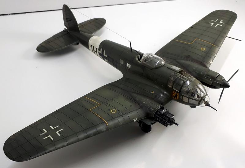 """Hasegawa 1/72---Heinkel He 111 H6 """"TORPEDO BOMBER""""   - Page 9 20180517"""