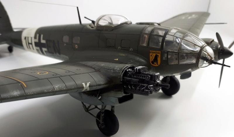 """Hasegawa 1/72---Heinkel He 111 H6 """"TORPEDO BOMBER""""   - Page 9 20180518"""
