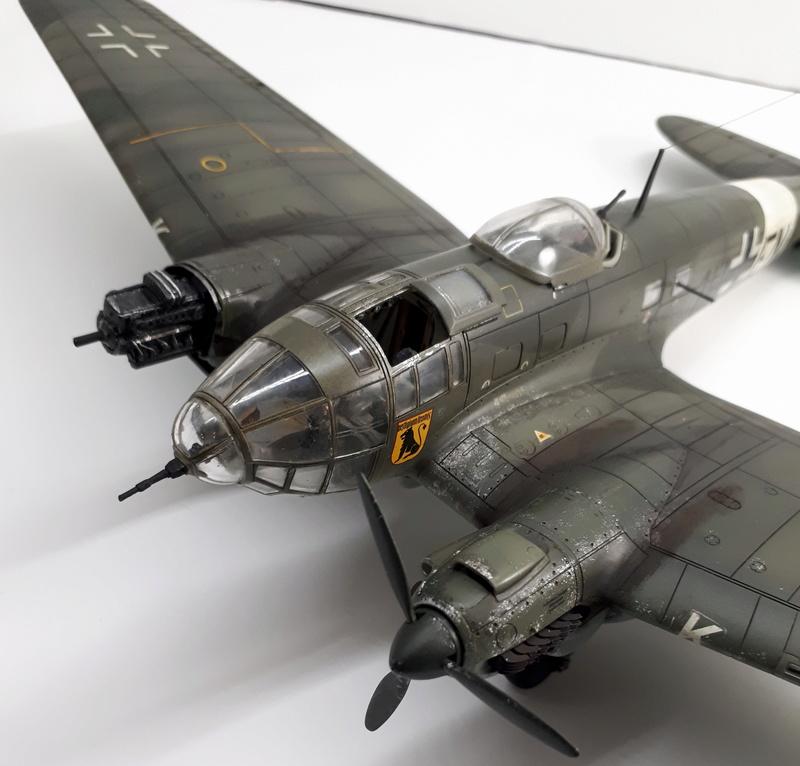 """Hasegawa 1/72---Heinkel He 111 H6 """"TORPEDO BOMBER""""   - Page 9 20180519"""