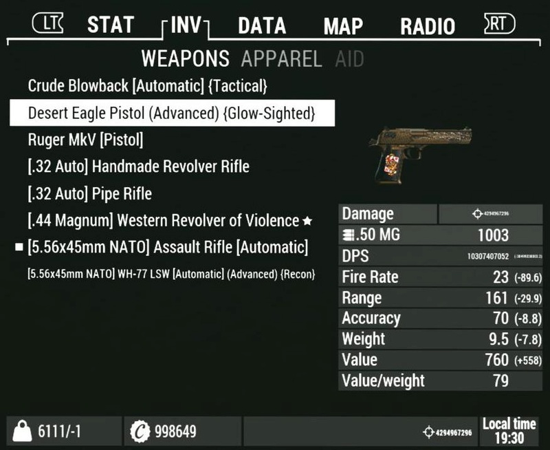 [FO4] Merged Weapons Mod Issue Fallou10