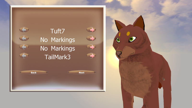 How to set Fur(bodymask and headmask) upper marks Screen13
