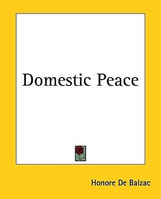 Domestic Peace, Honoré de Balzac  23114610