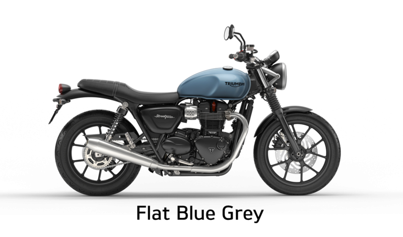 United Colors Of Triumph Street Twin Flatbl10