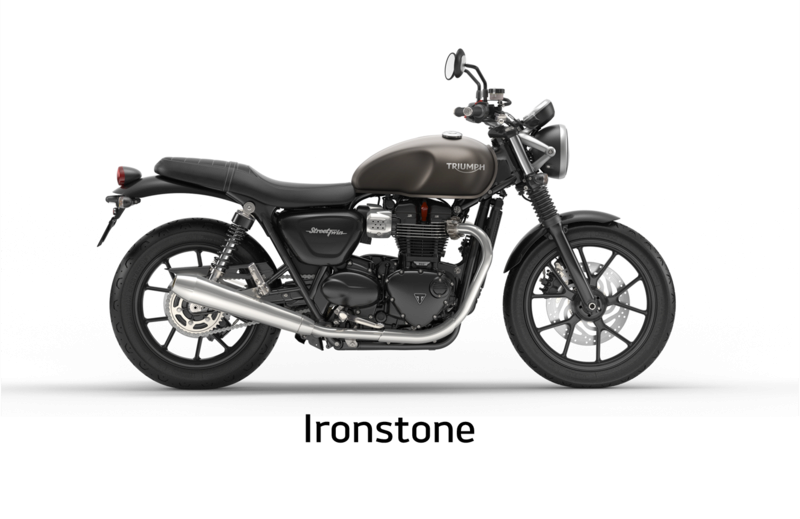 United Colors Of Triumph Street Twin Ironst10