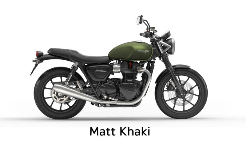 United Colors Of Triumph Street Twin Mattkh10