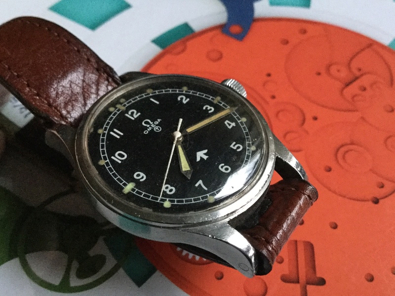 Omega RAF watch 1953 Image41