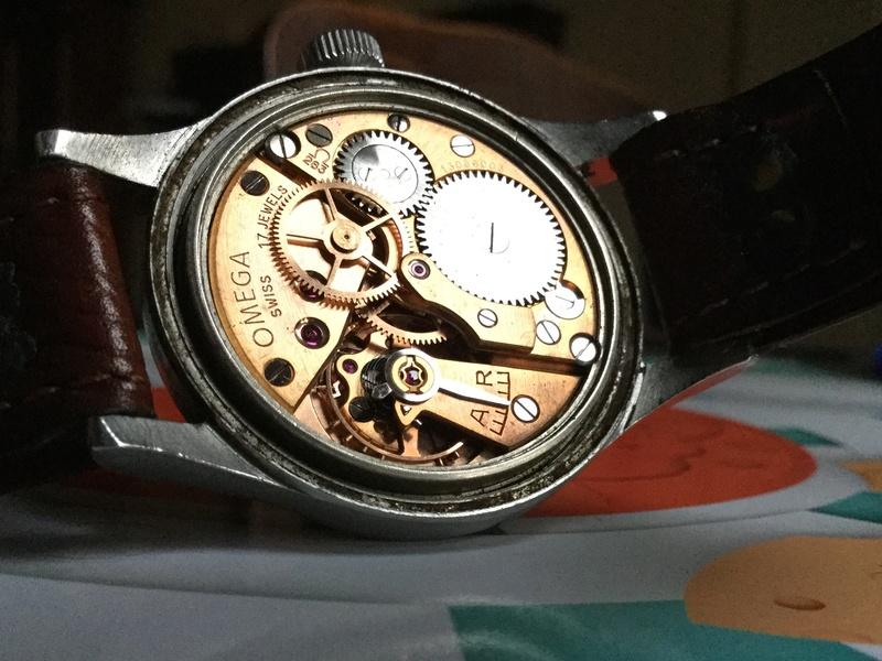Omega RAF watch 1953 Image44