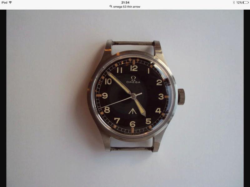 Omega RAF watch 1953 Image46