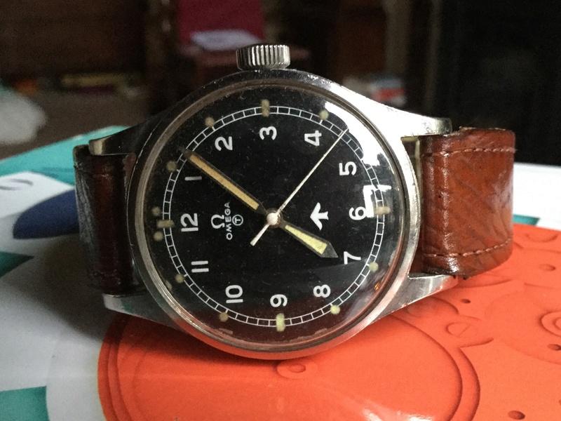 Omega RAF watch 1953 Image47