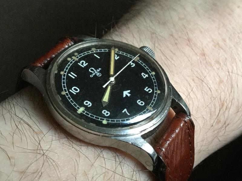 Omega RAF watch 1953 Image50