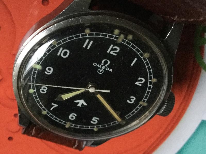 Omega RAF watch 1953 Image51