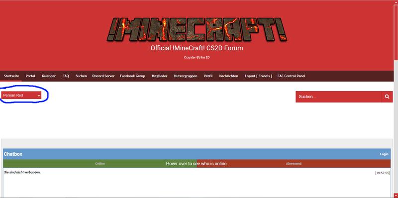 !MineCraft! CS2D Server - Portal Colour10