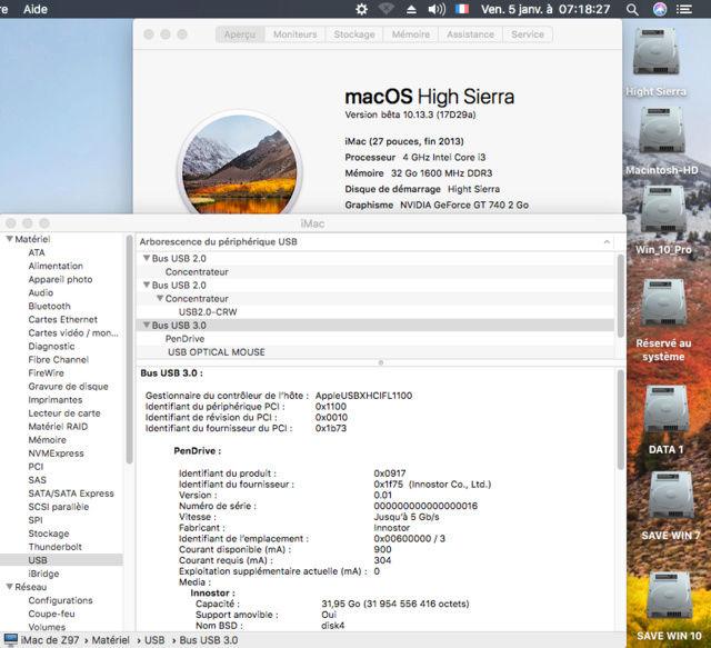 Sierra 10.12.6 Ports USB Captur38