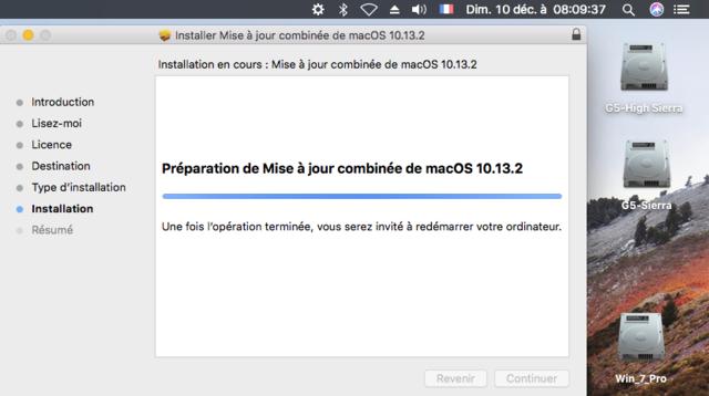 Yosemite jour 10.10.5 X d'OS à Télécharger combinée Mise
