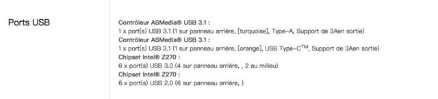 Sierra 10.12.6 Ports USB Captur64