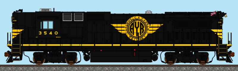 Scale Train Drawings Ay_b3210