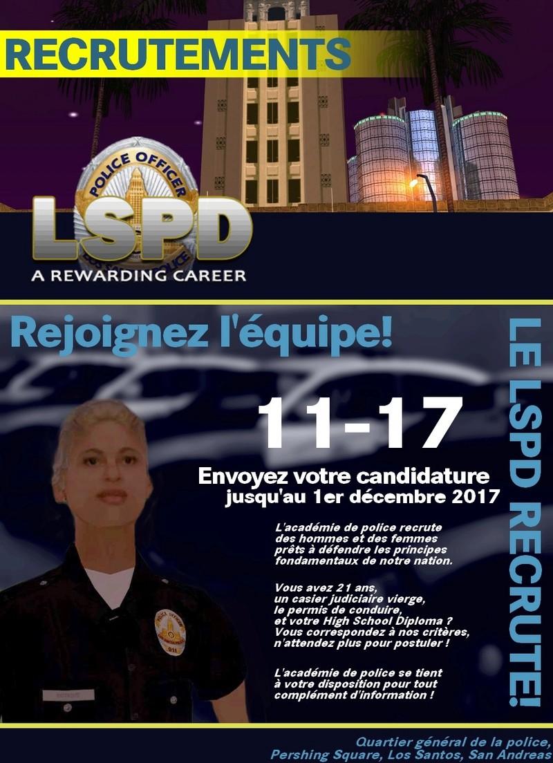 #LSPDHQ Ouverture de la session 11-17 11-1710