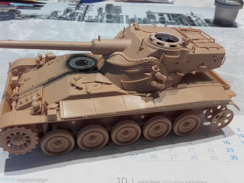 Quelle peinture pour mon AMX 13 1/35 Tamiya ? 20180210