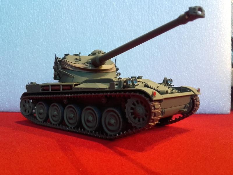 Quelle peinture pour mon AMX 13 1/35 Tamiya ? 20180212