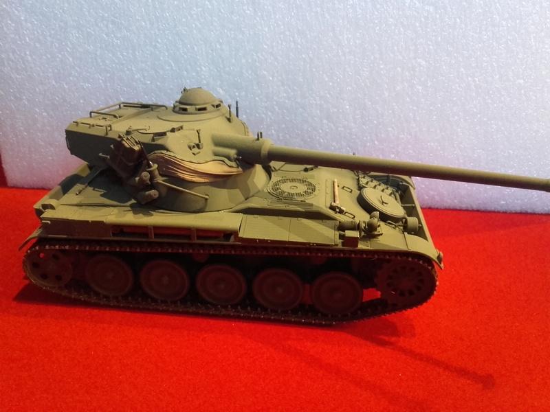 Quelle peinture pour mon AMX 13 1/35 Tamiya ? 20180213