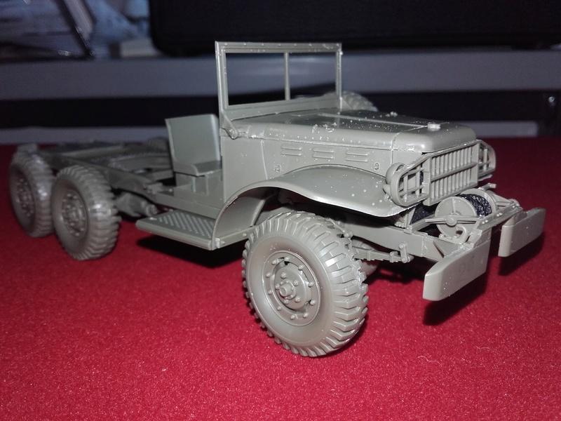 Dodge WC63 MG 1/35 AFV club 20180517