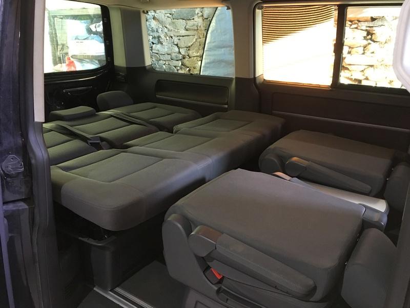 Démontage complet espace AR d'un Multivan Confortline 2006 Bqt411