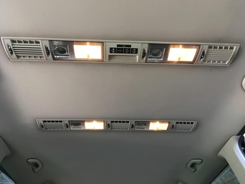 Démontage complet espace AR d'un Multivan Confortline 2006 Ciel811