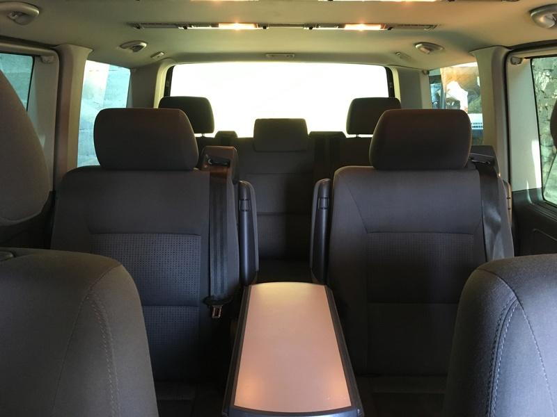 Démontage complet espace AR d'un Multivan Confortline 2006 S010