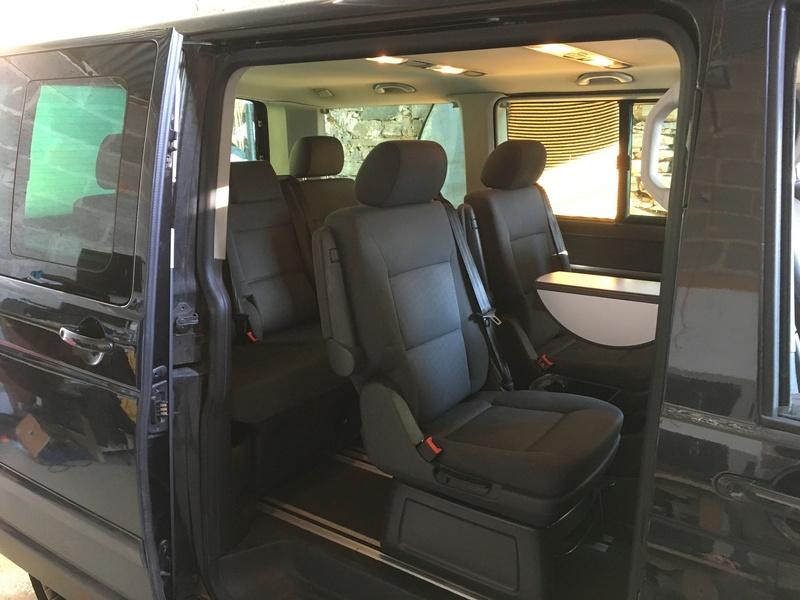 Démontage complet espace AR d'un Multivan Confortline 2006 S110