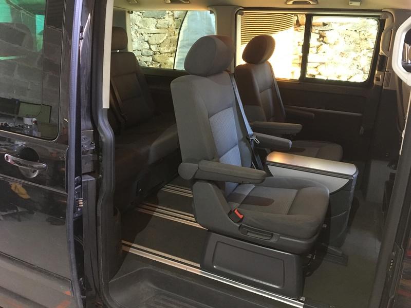 Démontage complet espace AR d'un Multivan Confortline 2006 S1110