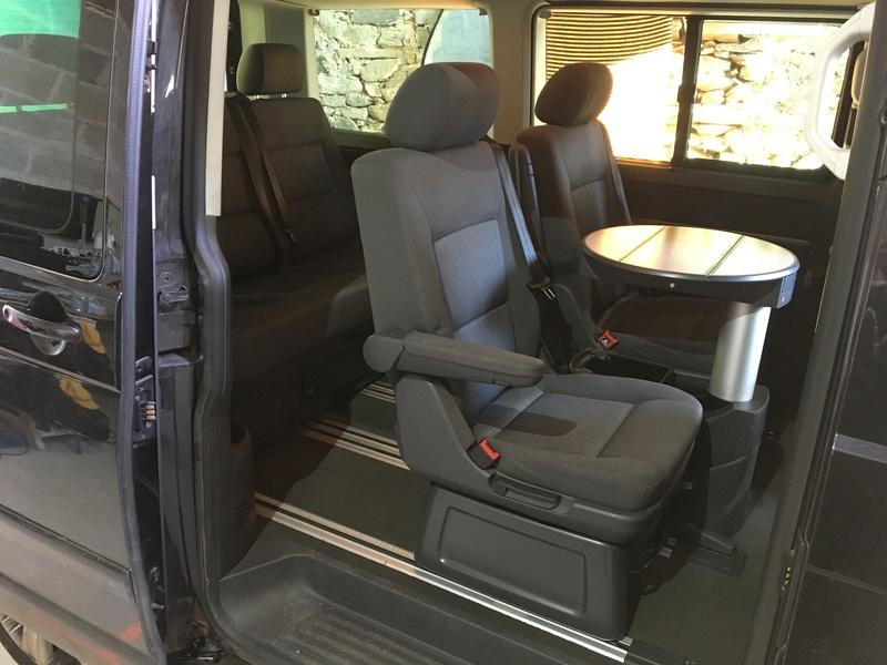 Démontage complet espace AR d'un Multivan Confortline 2006 S1210