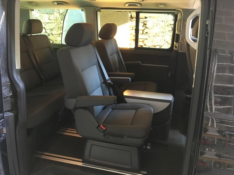 Démontage complet espace AR d'un Multivan Confortline 2006 S210