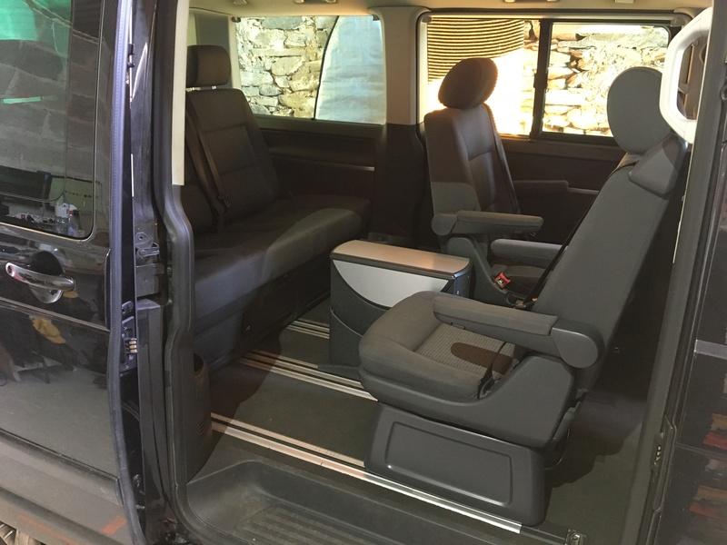 Démontage complet espace AR d'un Multivan Confortline 2006 S610
