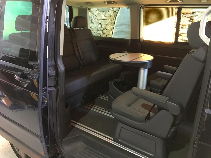 Démontage complet espace AR d'un Multivan Confortline 2006 S710